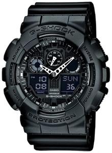 Часы Casio G-shock GA-100A (Черные)
