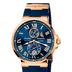 Кварцевые часы Ulysse Nardin (Синие)