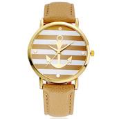 Часы женские Geneva Marine (Бежевые)