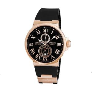 Кварцевые часы Ulysse Nardin (Чёрные)