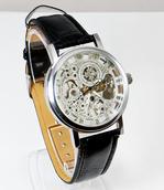 Механические часы Скелетоны Patek Philippe (Серебро)