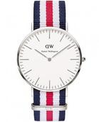 Часы Daniel Wellington Сanterbury (Серебро)
