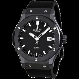 Часы Hublot Classic Fusion (Черный корпус)