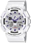Часы Casio G-shock GA-100A (Белые)