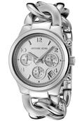 Часы женские Michael Kors Runway Twist (Серебро)